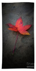 Autumn Leaf Hand Towel