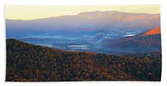 Autumn Mountains  Hand Towel