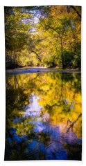 Autumn Reflections Bath Towel
