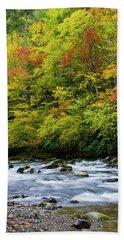 Autumn Stream Hand Towel
