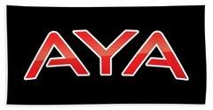 Aya Bath Towel