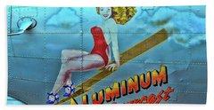 B - 17 Aluminum Overcast Pin-up Bath Towel