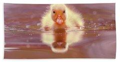 Baby Animal Series - Baby Duckling Hand Towel