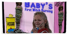 Baby's First Witch Hunt Hand Towel