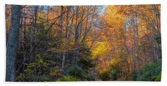 Bath Towel featuring the photograph Back Road Beauty by Russell Pugh