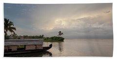 Backwaters Of Kerala Hand Towel