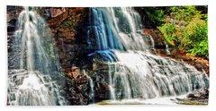 Balckwater Falls - Closeup Bath Towel
