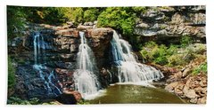 Balckwater Falls - Wide View Hand Towel