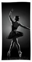 Ballerina Dancing Hand Towel