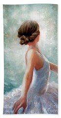 Ballerina Dazzle Hand Towel