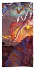 Ballet Seen From A Box Seat - Digital Remastered Edition Hand Towel