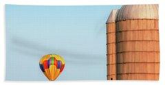 Balloon And Silo Hand Towel