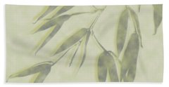 Bamboo Leaves 0580c Hand Towel