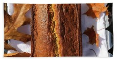 Banana Bread With Rum, Ginger And White Whole Wheat Hand Towel