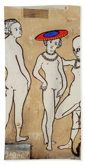 Banksy Paris Winner Take All Bath Towel
