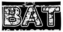 Bat Is My Spirit Animal Car Science Bath Towel