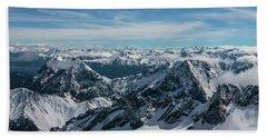 Bavarian Alps Hand Towel