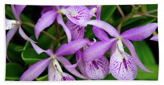 Bc Maikai 'louise' Orchid Hand Towel