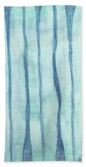 Beach Collection Beach Water Lines 2 Hand Towel