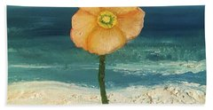 Beach Flora Hand Towel