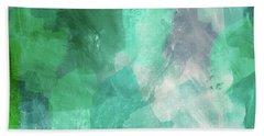 Beach Glass 3- Art By Linda Woods Bath Towel