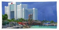 Beach Life In Cancun Hand Towel