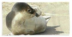 Beach Seal Hand Towel