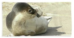 Beach Seal Bath Towel