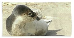 Beach Seal Hand Towel