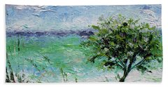 Beach Tree Hand Towel