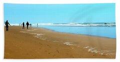 Beach Walk Wide Hand Towel