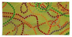 Beads And Pearls - September Hand Towel