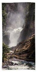 Bear Creek Spray In Color Hand Towel