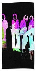 Beatles Watercolor II Hand Towel