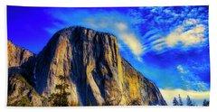 Beautiful El Capitan Hand Towel