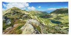Beautiful Landscape Of Pirin Mountain Hand Towel