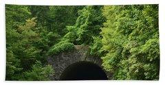 Beautiful Tunnel With Greenery, Nc Hand Towel