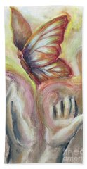 Beauty For Ashes Hand Towel