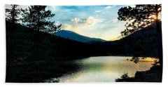 Hand Towel featuring the photograph Beaver Brook Lake by Dan Miller