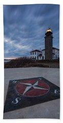 Beavertail Lighthouse Hand Towel