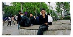 Beijing Street Hand Towel