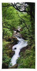 Bela River, Balkan Mountain Bath Towel