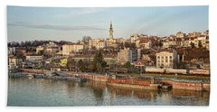 Belgrade Cityscape Bath Towel