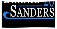 Bernie Sanders Blue Wave 2020 Hand Towel