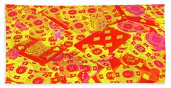 Betting Background Hand Towel