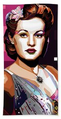 Betty Grable Hand Towel