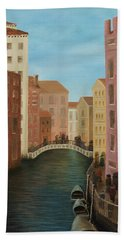 Beyond The Grand Canal Bath Towel