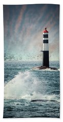 Beyond The Northern Waves Hand Towel