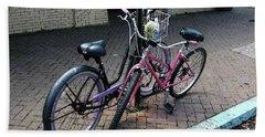 Bicycles City Park New Orleans Bath Towel