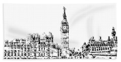 Big Ben Hand Towel
